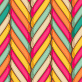 Marshmallow seamless pattern Royalty Free Stock Images