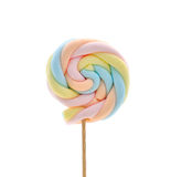 Marshmallow on a stick Stock Photography