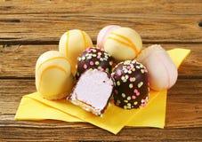 Marshmallow teacakes Royalty Free Stock Photography