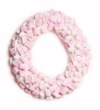 Marshmallow wianek Fotografia Stock