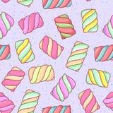 Marshmallow wzór zdjęcia royalty free