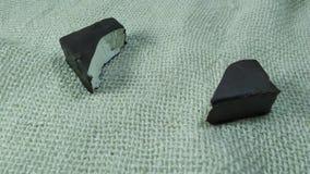 Marshmallow z czekoladą jedzącą zatrzymuje ruch zbiory wideo