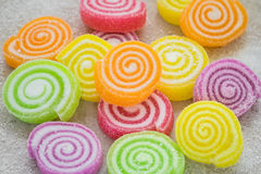 Marshmallows με τη ζελατίνα στοκ εικόνες