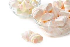 Marshmallows στο κύπελλο Στοκ Φωτογραφίες