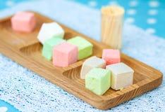 marshmallows fotografia stock
