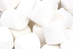 Marshmallows Fotografia de Stock