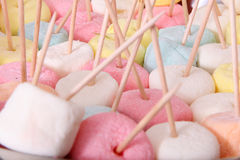 marshmallows Royaltyfria Bilder