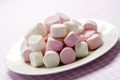 marshmallows Arkivfoto