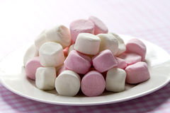 marshmallows royaltyfri foto