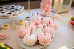 marshmallows Immagini Stock