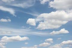 Marshmallows brancos da nuvem Imagem de Stock