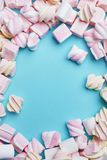 Marshmallows Candies On Background Royalty Free Stock Photography