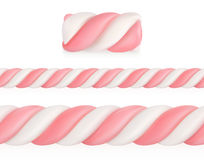 Marshmallows Candy Pattern Royalty Free Stock Photos