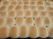 Marshmallows cozidos dourados sobre uma batata doce da ação de graças Imagem de Stock