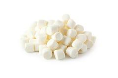 Marshmallows isolated on a white Stock Photos