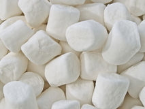Marshmallows macro Stock Photography