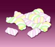 marshmallows också vektor för coreldrawillustration stock illustrationer
