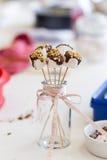 Marshmallows on stick Stock Image