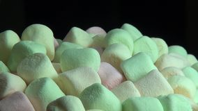 Marshmallows, Sugary Treats, Candy stock footage