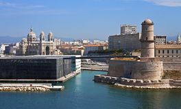 Marsiglia, Francia Fotografia Stock Libera da Diritti
