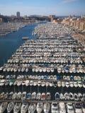 Marsiglia stary port fotografia royalty free