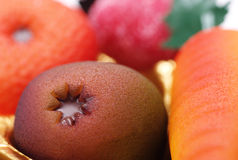 Marsipanfrukter Royaltyfri Fotografi