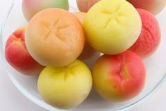 Marsipanfrukter Arkivbilder