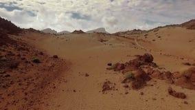 Marsjański krajobraz zdjęcie wideo