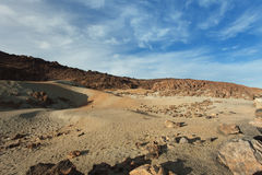 Marsscape auf Planetenerde Stockbild