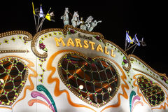 Marstall tent at the Oktoberfest in Munich, Germany, 2015 Stock Photography