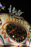 Marstall tent at the Oktoberfest in Munich, Germany, 2015 Stock Photo