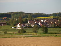 Marstetten village houses ,Switzerland Royalty Free Stock Images