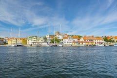 Marstrand en Suède Images libres de droits