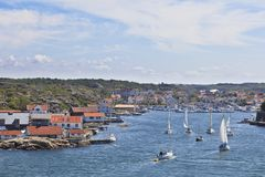Marstrand harbour Royalty Free Stock Photography