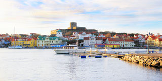 Marstrand Island Sweden Stock Photos