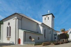 Marstrand kościół w Szwecja obrazy royalty free