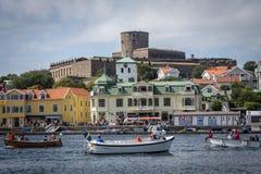Marstrand - la Suède Images stock