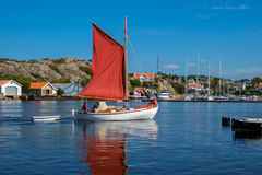 Marstrand in September Royalty Free Stock Image