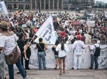 132 marsz protestacyjny Zdjęcie Royalty Free