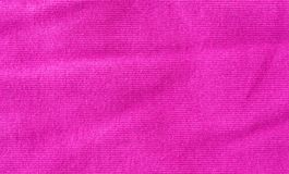 Marszcząca wibrująca i jaskrawa różowa tkanina Obraz Stock