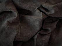 Marszczący tkaniny tekstury tło Zdjęcie Royalty Free