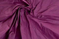 Marszcząca tkaniny claret purpur tekstura Zdjęcia Stock
