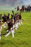 Marszowi żołnierze Zdjęcia Royalty Free