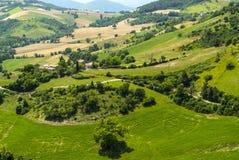 Marszu krajobraz Zdjęcia Royalty Free