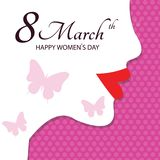 8 mart/ International women's day. 8 mart International women's day. vector royalty free stock images