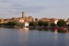 Marta - Bolsena Italia Imagen de archivo libre de regalías