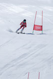 Marta Carvalho during the Ski National Championships Royalty Free Stock Images