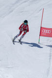 Marta Carvalho during the Ski National Championships Royalty Free Stock Photography