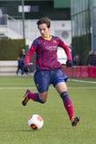 Marta Corredera - el FC Barcelona de las mujeres combina Foto de archivo libre de regalías