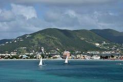 Marta de Saint, Antilhas holandesas Fotos de Stock Royalty Free